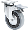 Castors for institutional applications