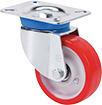 Industrial transport castors